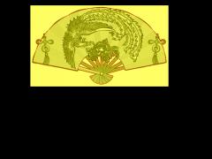 HRBJ025- 扇子凤凰牡丹 摆件浮雕图设计 扇子凤凰牡丹 摆件雕刻图制作 扇子凤凰牡丹 摆件精雕图下载地址