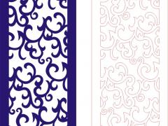 PFLK007-EPS格式中式镂空木雕花格雕刻矢量图CDR格式中式镂空装饰雕刻矢量图案制作中式屏风镂空雕刻矢量图案中式隔断镂空精雕矢量图下载地址
