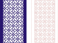 PFLK009-EPS格式中式镂空木雕花格雕刻矢量图CDR格式中式镂空装饰雕刻矢量图案制作中式屏风镂空雕刻矢量图案中式隔断镂空精雕矢量图下载地址