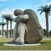 【园林景观354】抽像石雕人物报价