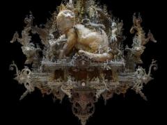 历时7年创作的雕塑,精细到不可思议,放大看细节更让人佩服