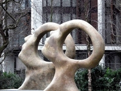 """【国外著名雕塑*抽像】""""搜索启蒙""""—等待被填满的空白大脑"""