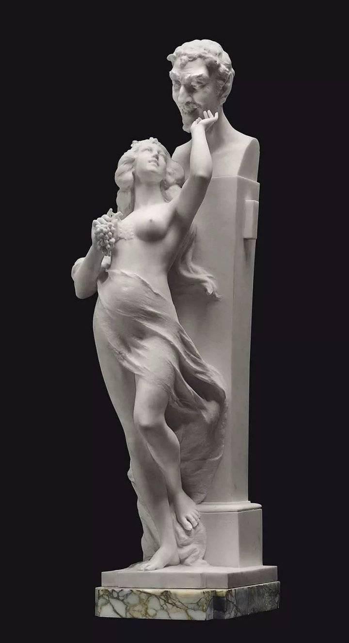 美的享受,大理石雕塑