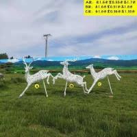 """""""白鹿玻璃钢雕塑特供小鹿玻璃钢雕塑厂家"""""""