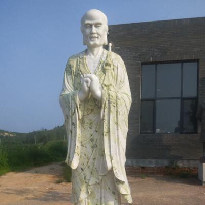 XFGS1191-十八罗汉石雕塑像设计