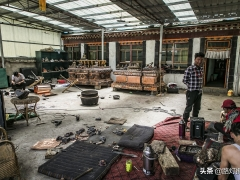 西藏传承千年技艺,十多道工序打造青铜佛像,匠心精神千锤百炼