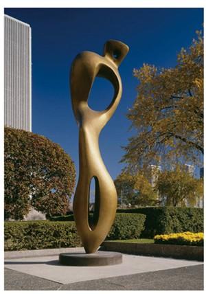 抽象雕塑大师_世界抽象雕塑_抽象雕塑艺术