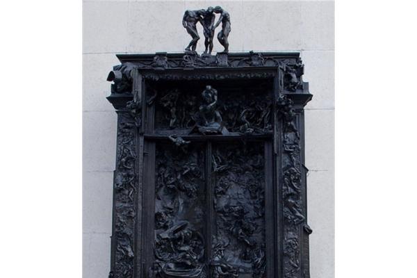 《地狱之门》门楣|罗丹雕塑作品