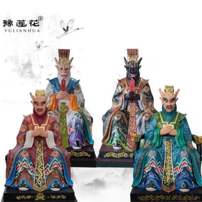 四海龙王神像实体厂家邓州市豫莲花雕塑工艺厂家龙王爷神像