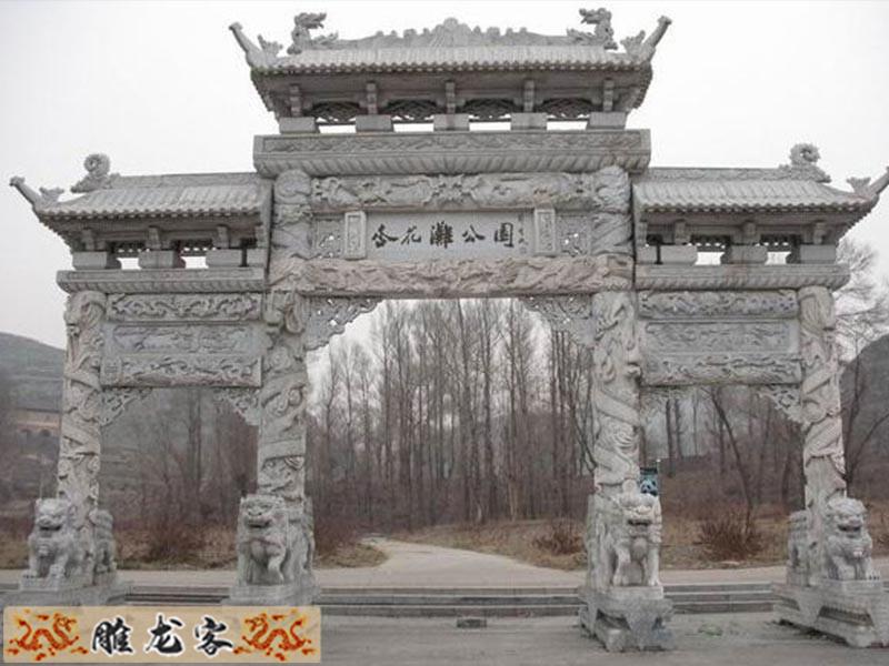 简单介绍石雕牌坊的历史发展