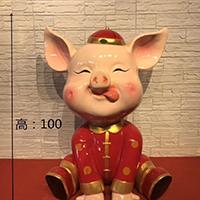 BLG1814-玻璃钢卡通动物雕塑供应