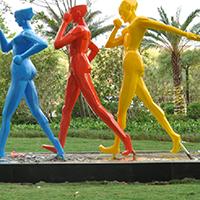 BLG232-玻璃钢人物雕塑报价