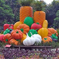 BLG2327-玻璃钢蔬菜雕塑厂