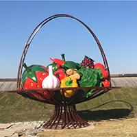 BLG2328-玻璃钢蔬菜雕塑定制