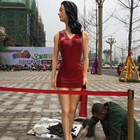 BLG233-玻璃钢砂岩GRC人物雕塑加工厂