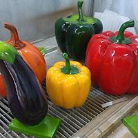 BLG2330-玻璃钢蔬菜雕塑价格