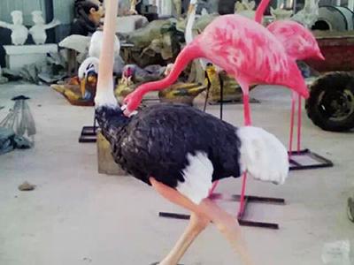 BLG589-玻璃钢鸟类雕塑哪里有