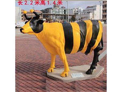BLG611-玻璃钢牛雕塑加工