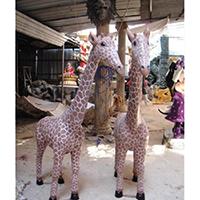BLG732-玻璃钢小鹿雕塑_玻璃钢仿真小鹿雕塑哪家好
