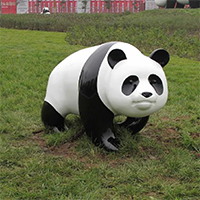 BLG771-玻璃钢熊猫雕塑加工