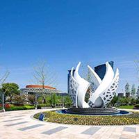BXG1772-不锈钢雕塑公司