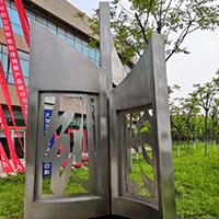 BXG2992-不锈钢雕塑制作厂家