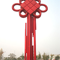 BXG4221-不锈钢园林广场雕塑定制