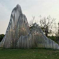 BXG4230-不锈钢园林广场雕塑公司