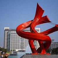 BXG5447-不锈钢景观雕塑制作