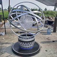 BXG5455-不锈钢景观雕塑加工厂