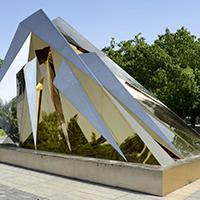 BXG5457-不锈钢景观雕塑厂