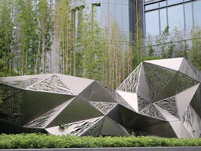 BXG993-不锈钢雕塑设计