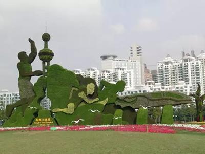 LD104-广场植物绿雕厂