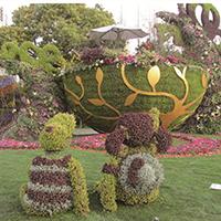 LD631-广场植物绿雕厂家