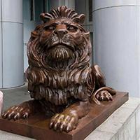 TDDW1283-西式铜雕狮子定制
