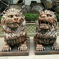TDDW1286-西式铜雕狮子价格