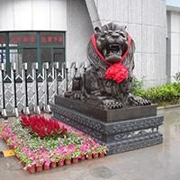 TDDW1291-西式铜雕狮子制作厂家