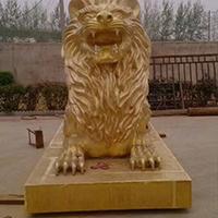 TDDW1292-西式铜雕狮子生产厂家