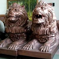 TDDW1295-西式铜雕狮子加工