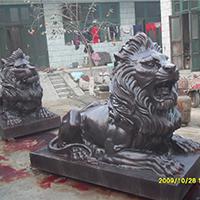 TDDW1297-西式铜雕狮子厂家