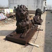TDDW1299-西式铜雕狮子定制