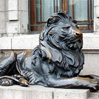 TDDW1301-西式铜雕狮子报价
