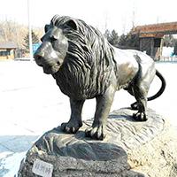 TDDW1306-西式铜雕狮子多少钱