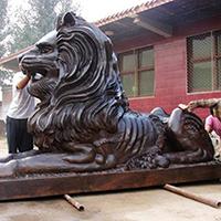 TDDW1308-西式铜雕狮子生产厂家
