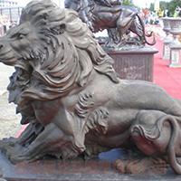 TDDW1311-西式铜雕狮子加工