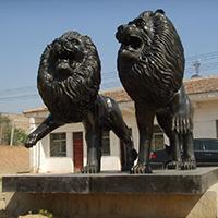 TDDW1316-西式铜雕狮子设计