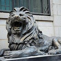 TDDW1319-西式铜雕狮子制作