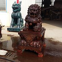 TDDW1340-中式铜雕狮子生产厂家