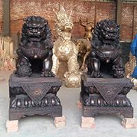 TDDW1341-中式铜雕狮子公司
