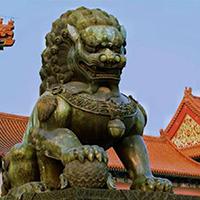 TDDW1342-中式铜雕狮子供应
